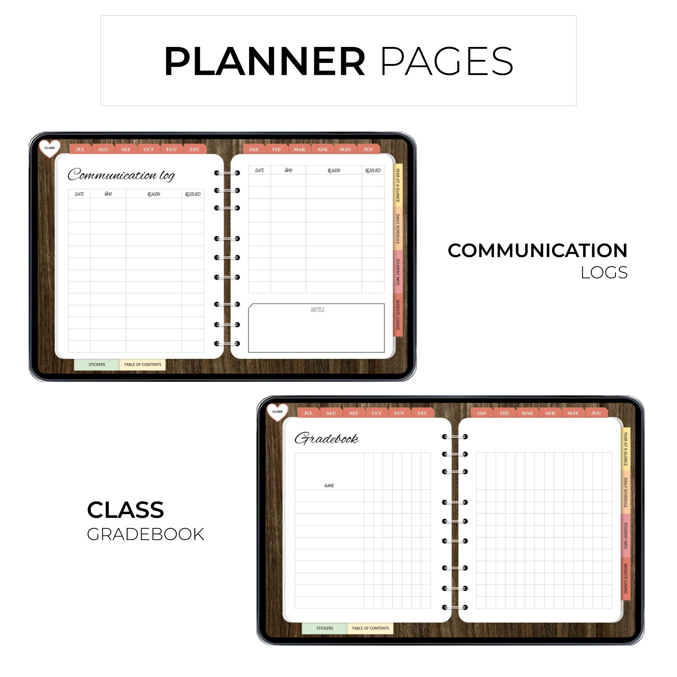 Ultimate Digital Teacher Planner - Product Images 2