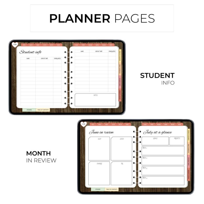 Ultimate Digital Teacher Planner - Product Images 3