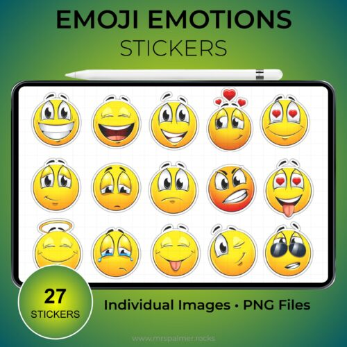 Emoji Emotions Stickers 1