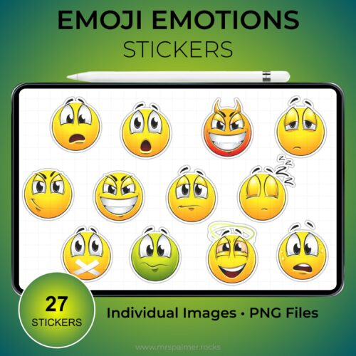 Emoji Emotions Stickers 2