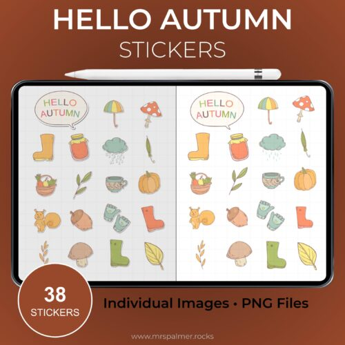 Hello Autumn Stickers
