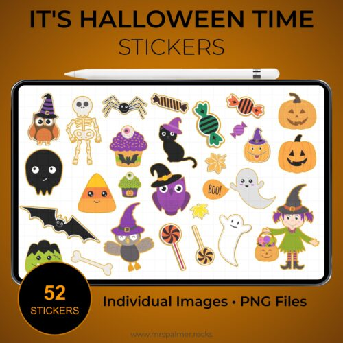 It's Halloween Time Stickers 1