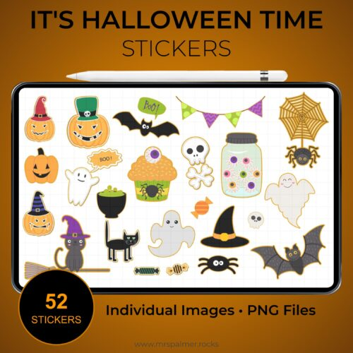 It's Halloween Time Stickers 2