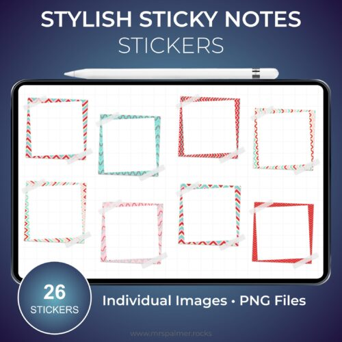 Stylish Sticky Notes Stickers 2