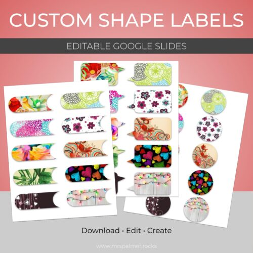 Custom Shape Labels (Google Slides)