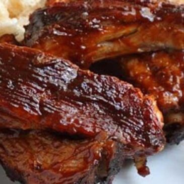 Baked BBQ Baby Back Ribs