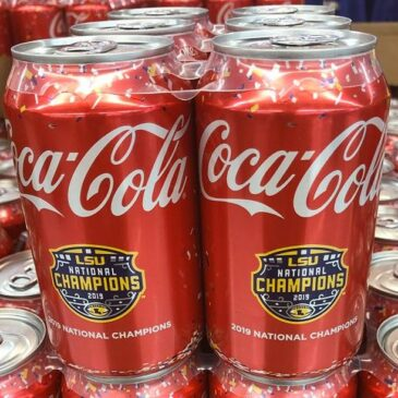 We now have LSU Championship edition Coca-Cola 6 packs in stock along with a large selection of limited edition shirts at all 3 Hi Nabor locations!