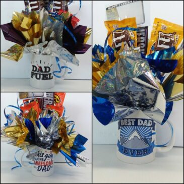 Don't forget Father's Day this Sunday, June 21. We have candy mug bouquets at all 3 locations!