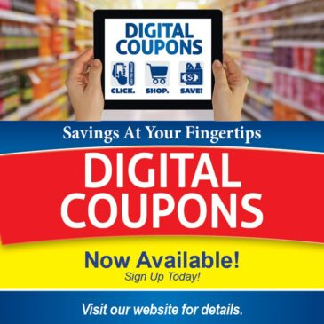 Digital Coupons Are Back!