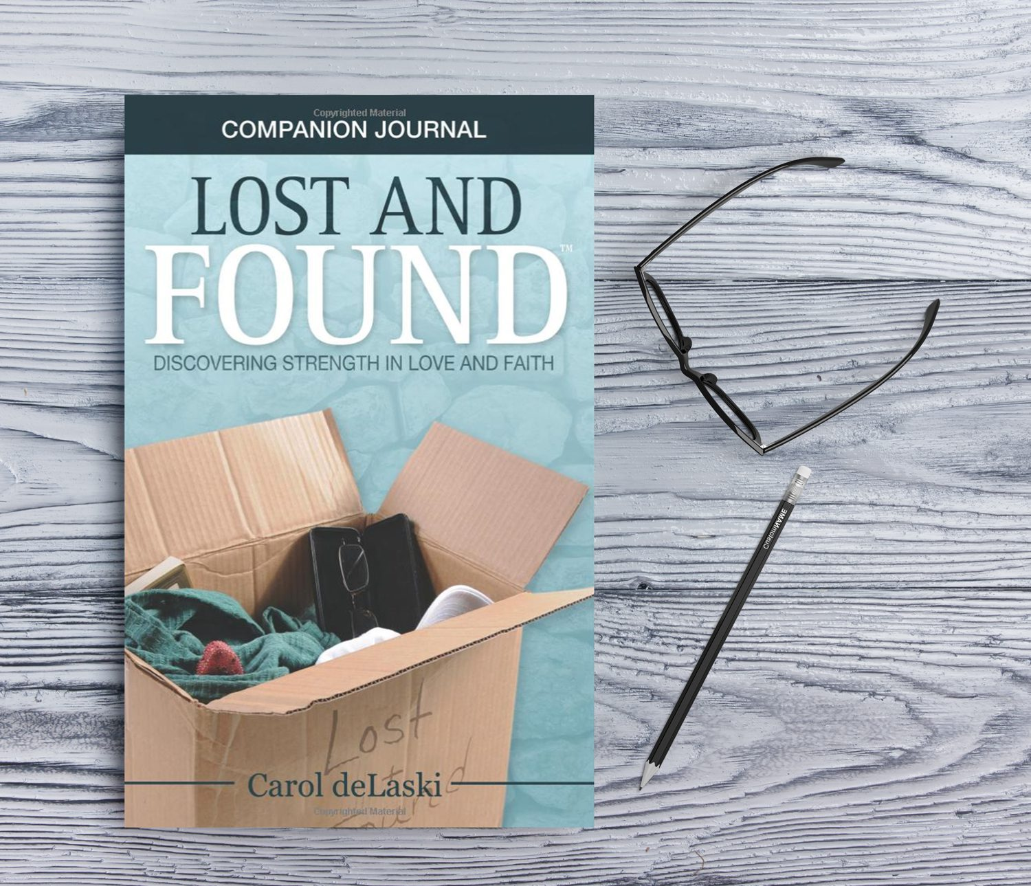 Lost and Found Companion Journal
