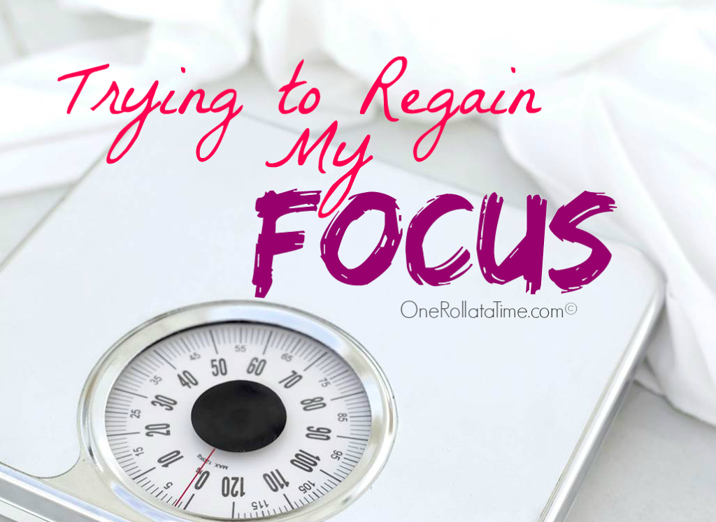 Trying to Regain My Focus