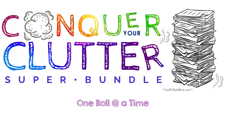 Conquer Your Clutter Super Bundle