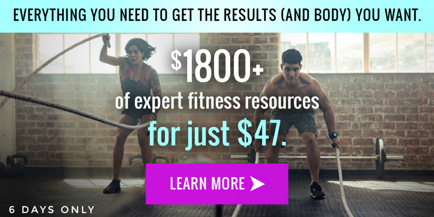 The Freedom Fitness Bundle – 6 Days Only