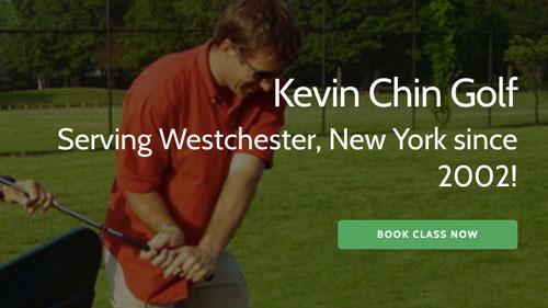 web design - kevin chin golf