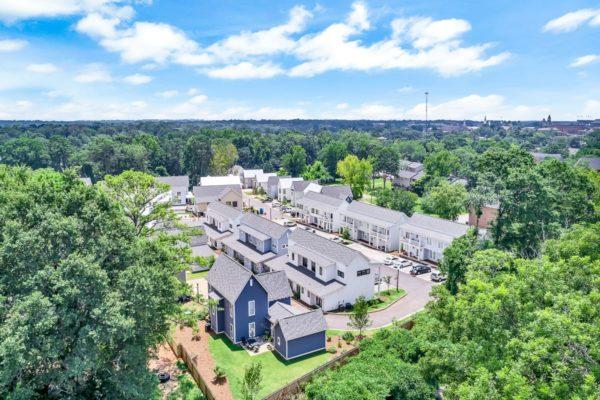 Aerial Image of The Avenue Auburn