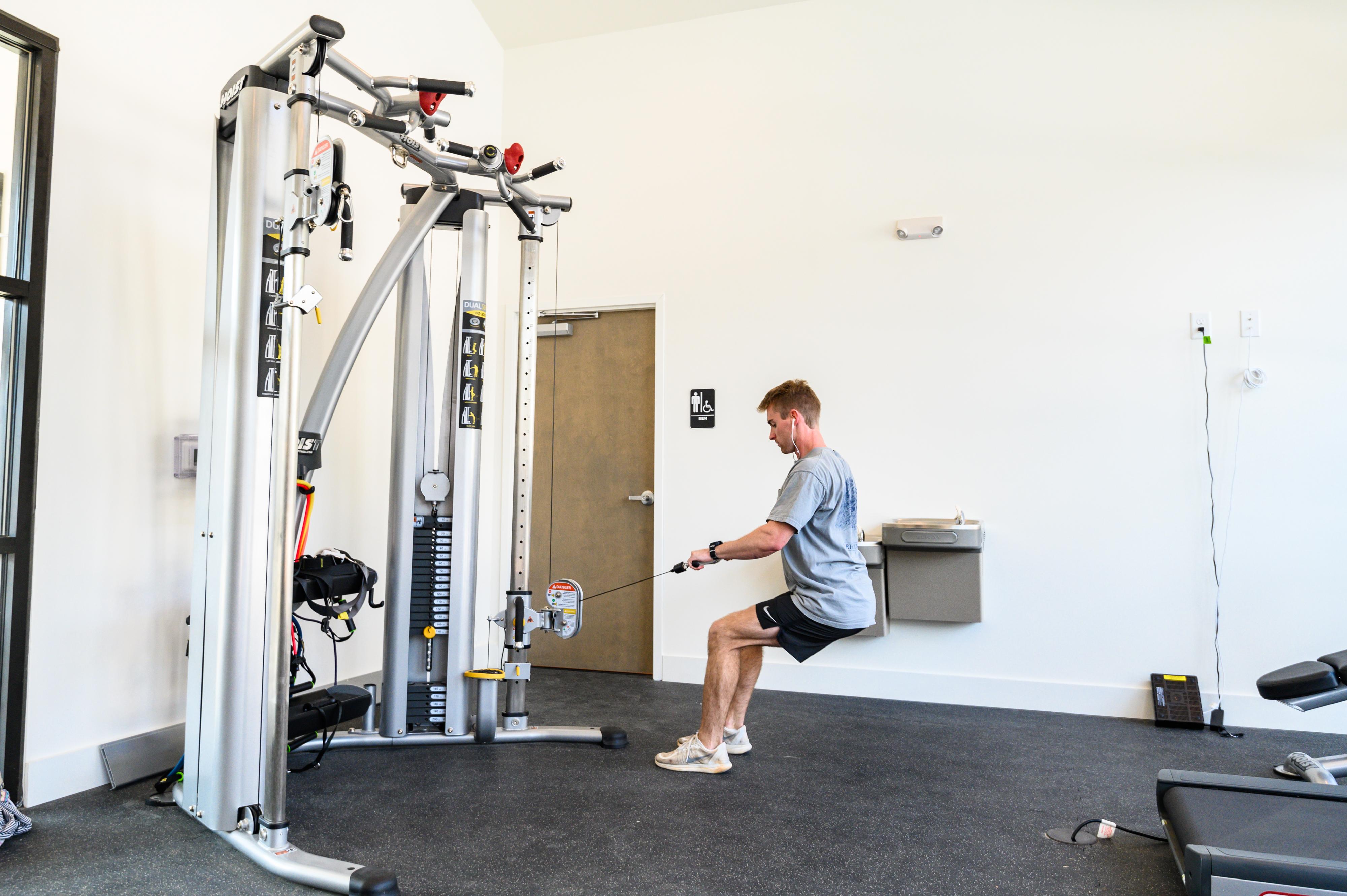 Auburn Student Housing Fitness center