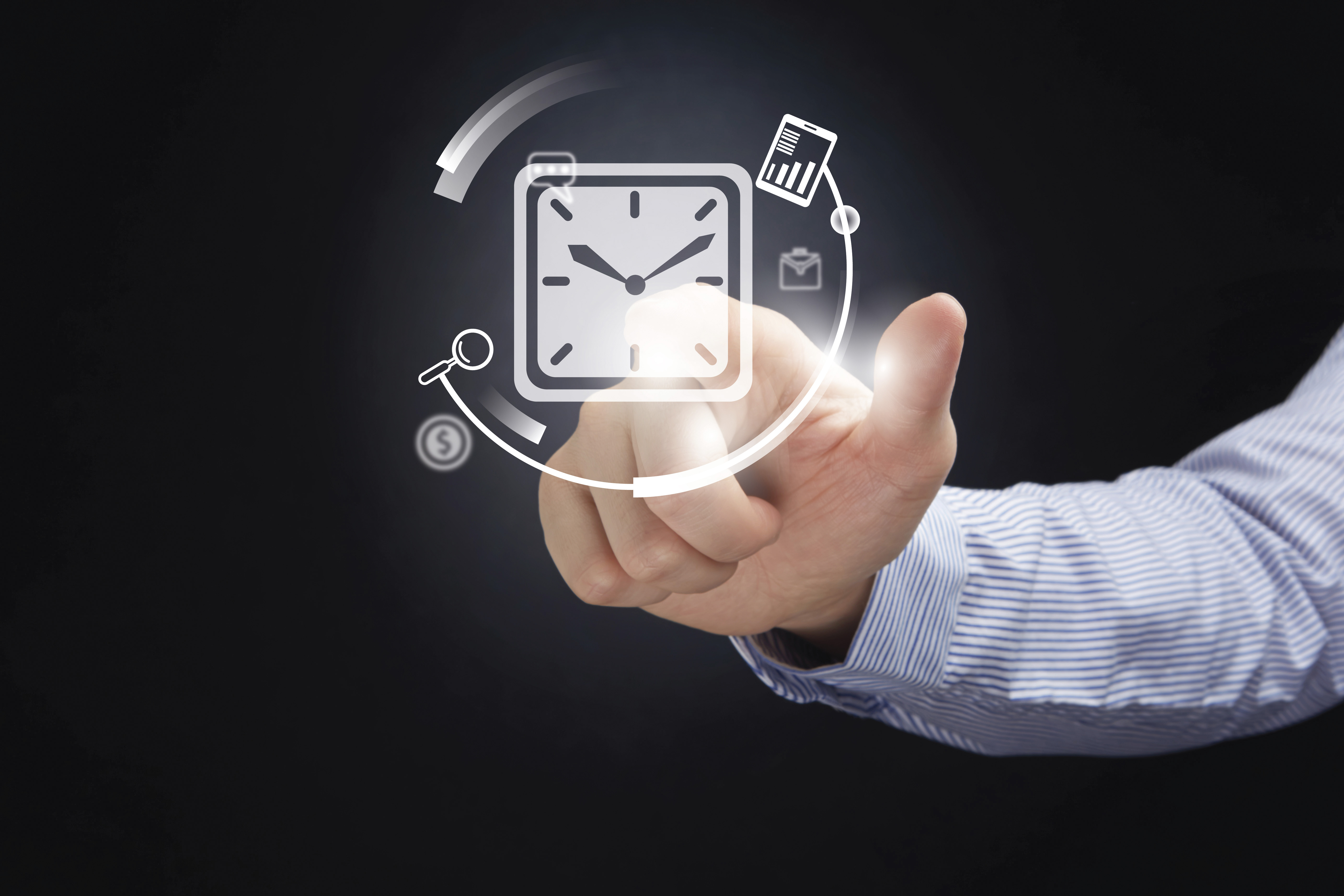 Time clocks for time and attendance
