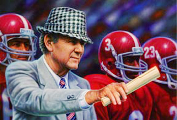 Bear Bryant Stamp
