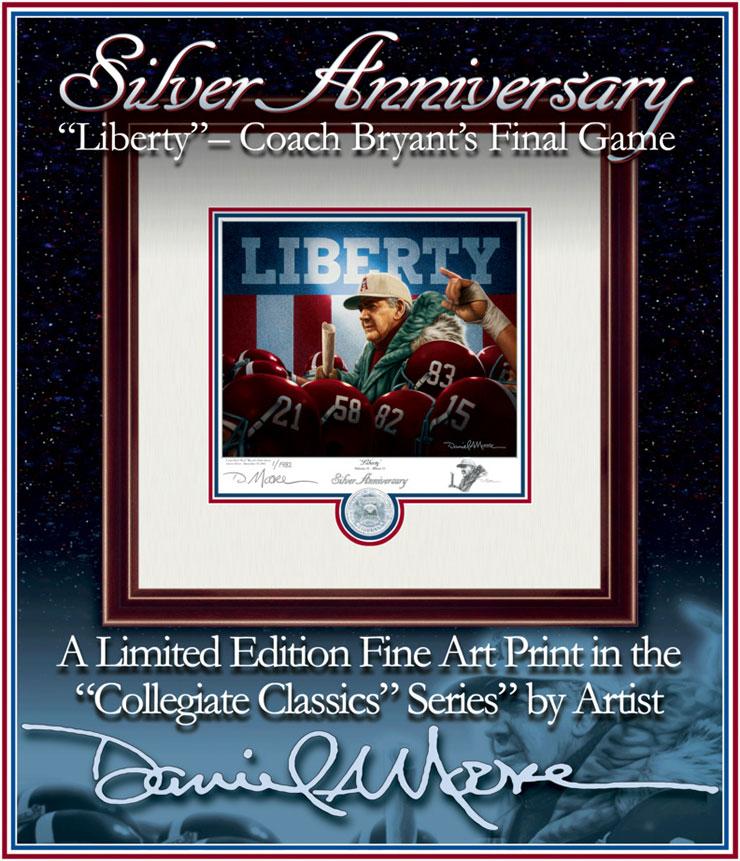 Liberty Silver Anniversary