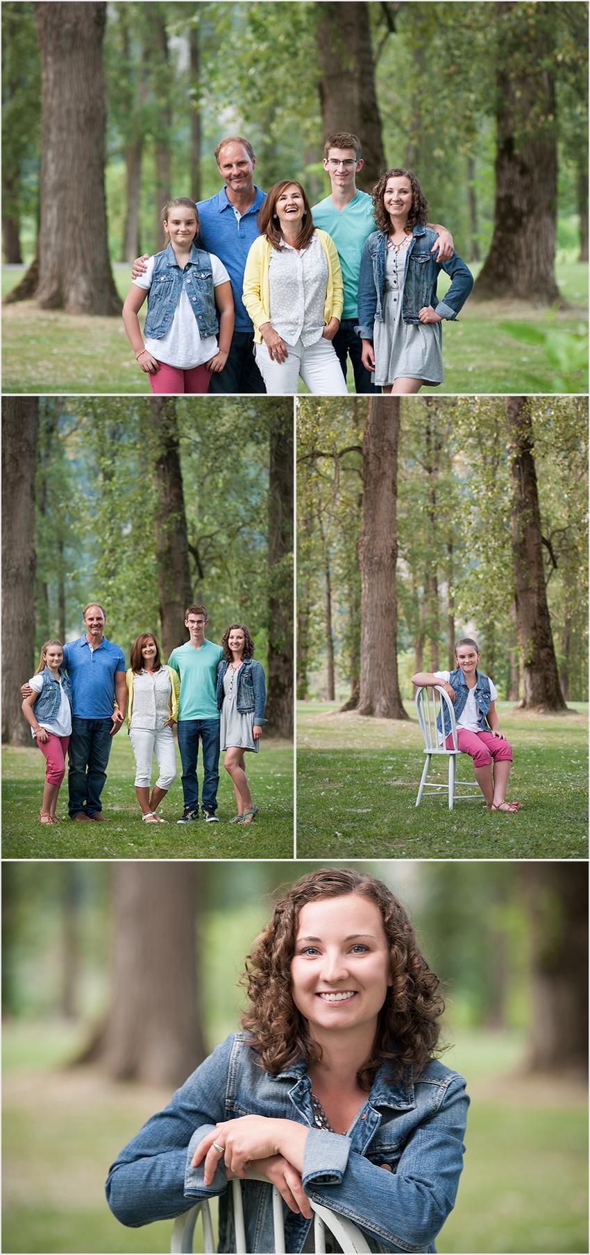 family photographer 002 (Side 2) the Falk Family and Josh's Grad