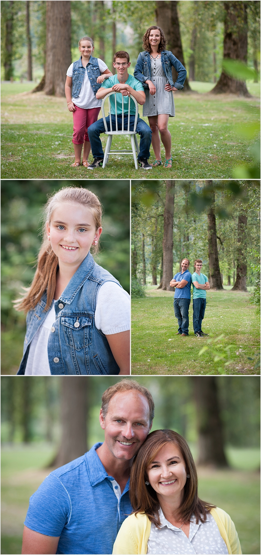 family photographer 003 (Side 3) the Falk Family and Josh's Grad