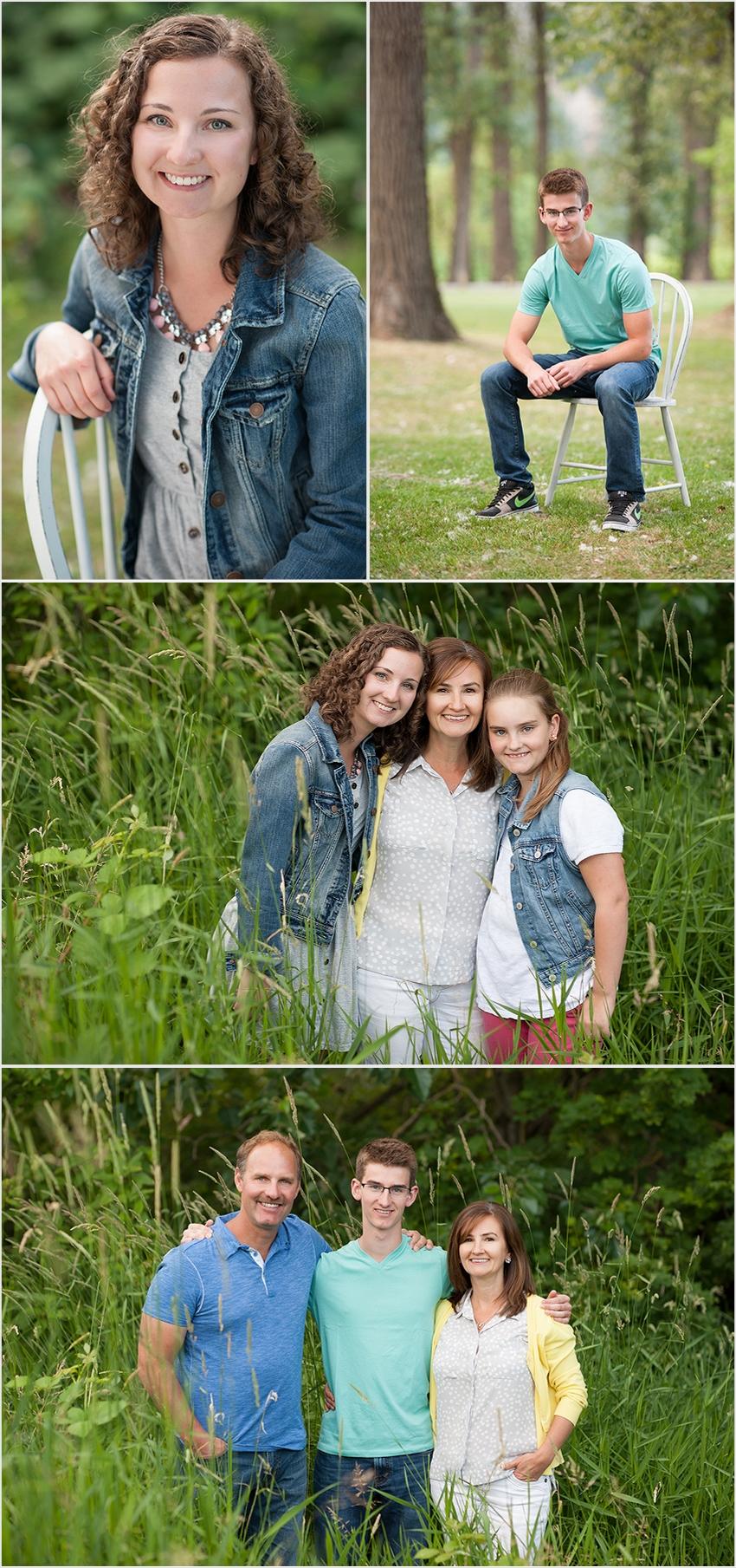 family photographer 004 (Side 4) the Falk Family and Josh's Grad