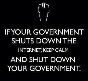 18 Ocak #internetimedokunma eyleminin en bomba sloganları