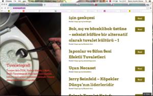 """Bok""u bloglamak: Tuvaletografi"