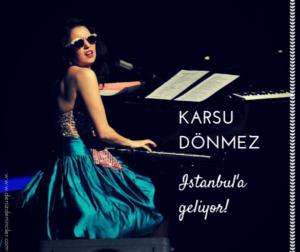 Karsu Dönmez 24. Akbank Caz Festivali için İstanbul'a geliyor :)