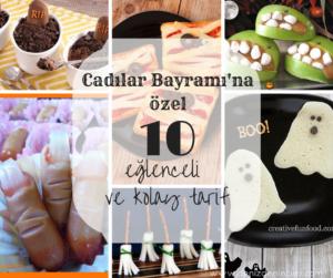 Cadılar Bayramı'na özel 10 eğlenceli ve kolay tarif