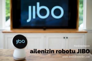 Ailenizin robotu Jibo, 2016 yazında satışa sunulacak.
