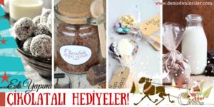 Yılbaşında sevdiklerinize ağız sulandıran çikolatalı hediyeler hazırlayın!