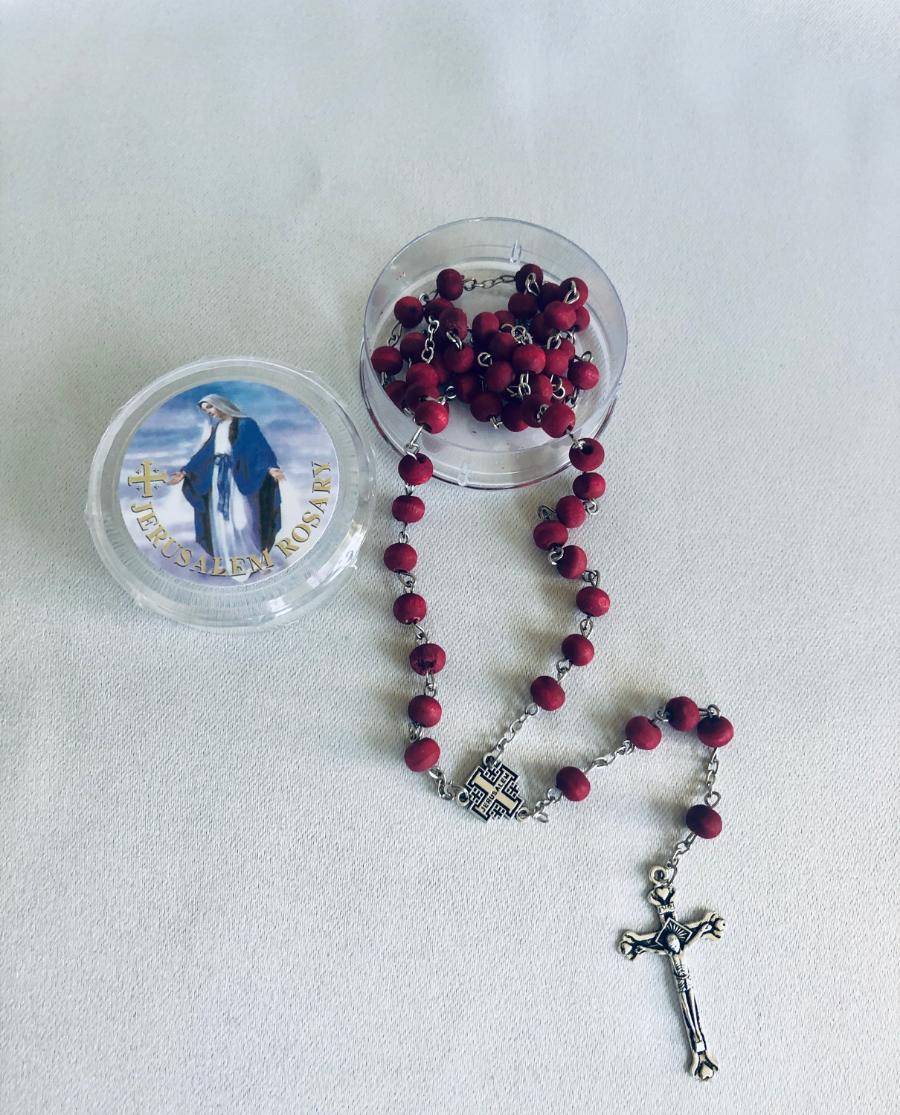 Rose Petal Rosary
