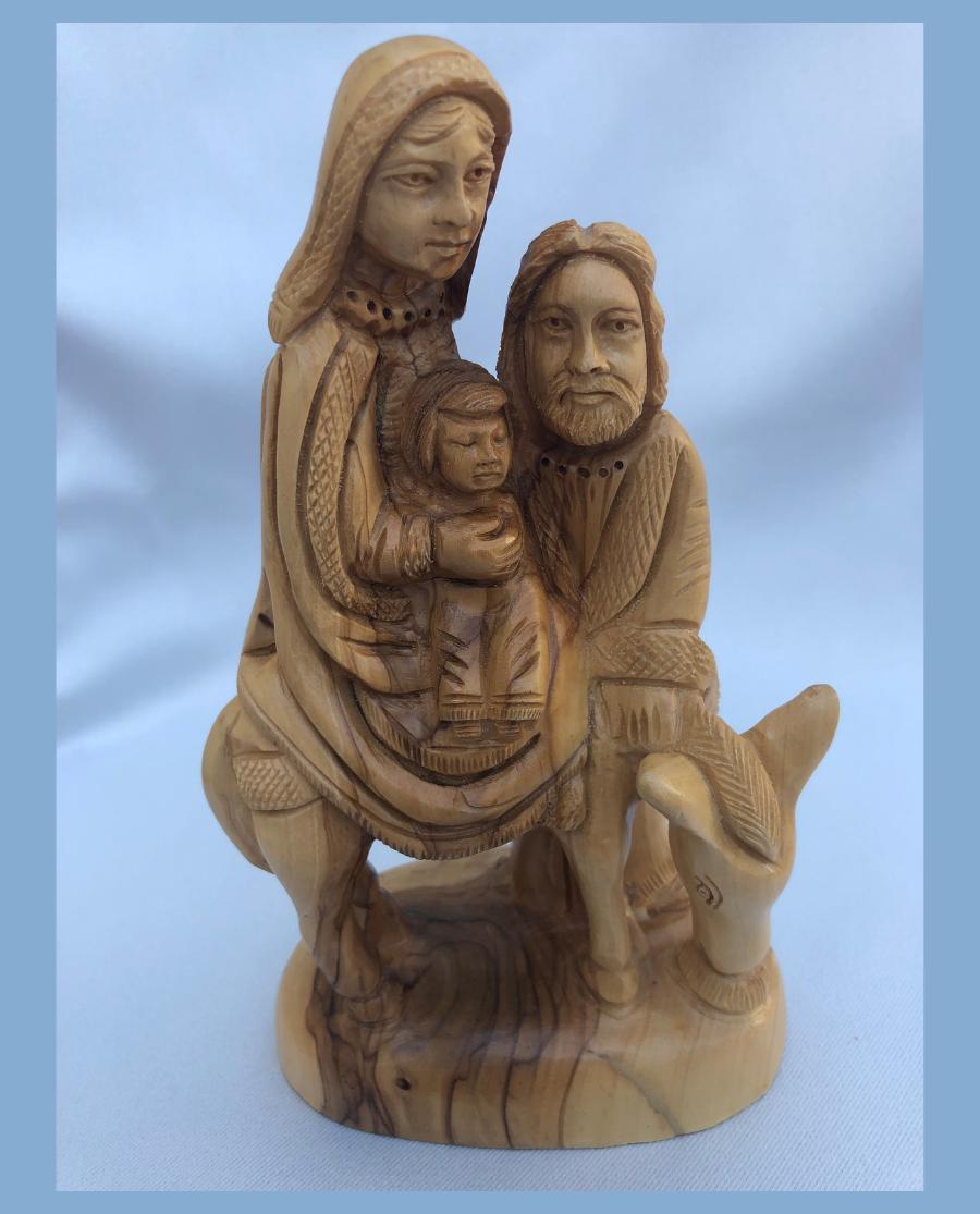 Holy Family coming to Egpyt