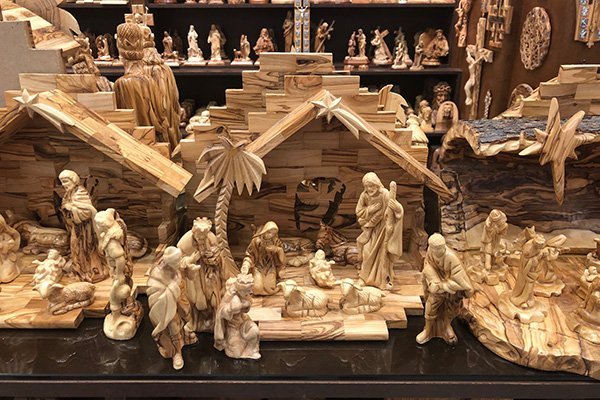Nativity Scenes form Bethlehem