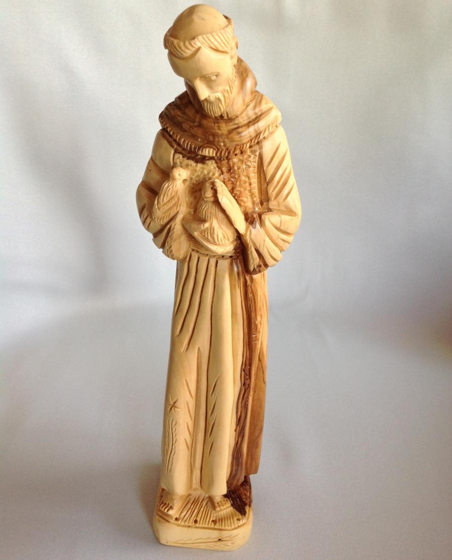 St Frances Large Statue