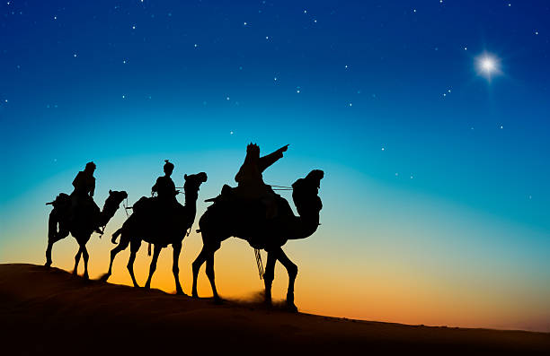 Three Kings Entering Bethlehem