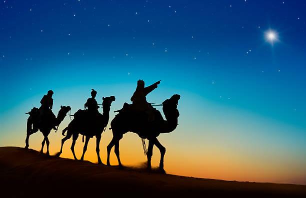 Three Kings Entering Bethlehem