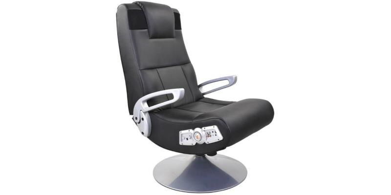 Ace Bayou X Rocker 5127401 Pedestal Video Gaming Chair