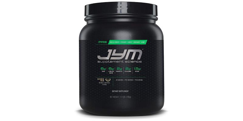 JYM PRE JYM Pre-Workout with BCAA's