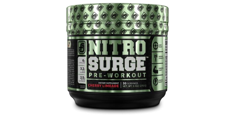 NITROSURGE Pre Workout Supplement