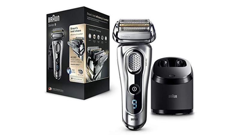 braun series 9 electric shaver