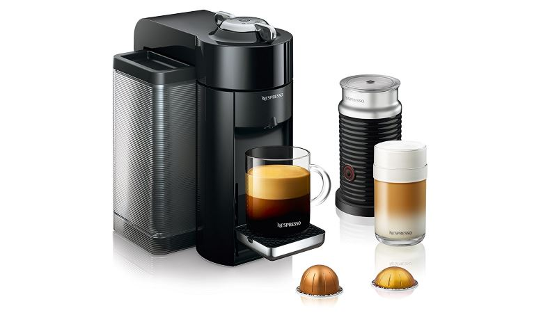 de longhi nespresso vertuo evoluo coffee pod machine