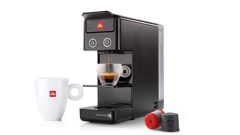 illy y3.2 iperespresso coffee pod machine