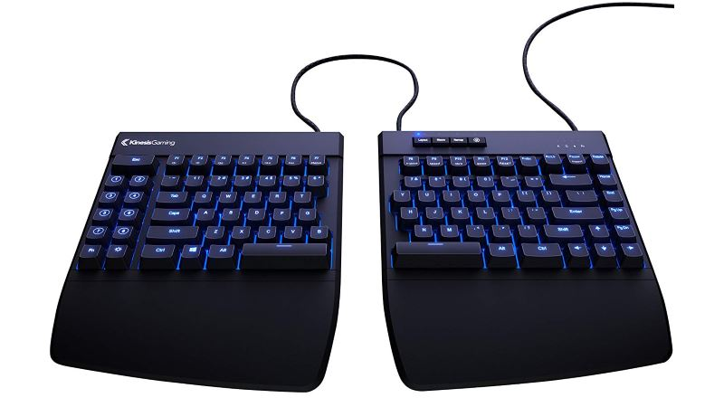 kinesis freestyle edge gaming keyboard