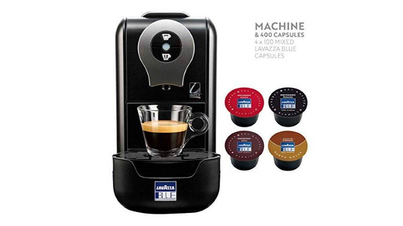 lavazza blue lb910 coffee pod machine