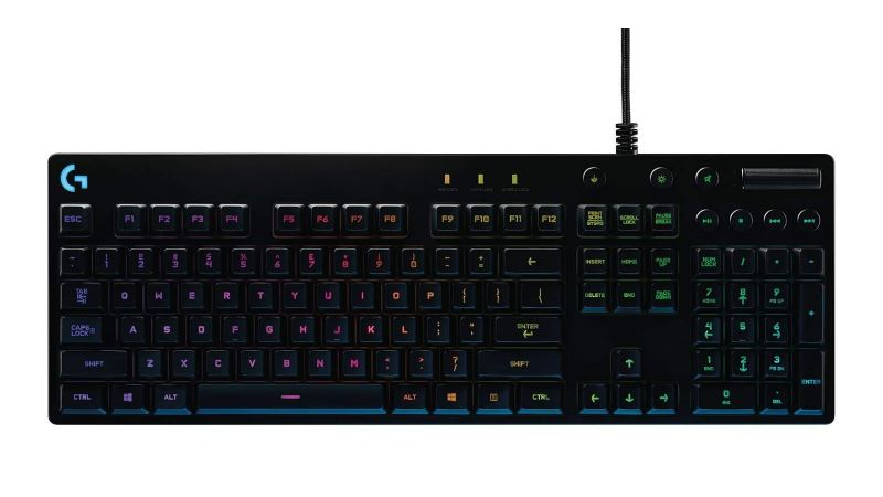 logitech g810 orion spectrum gaming keyboard