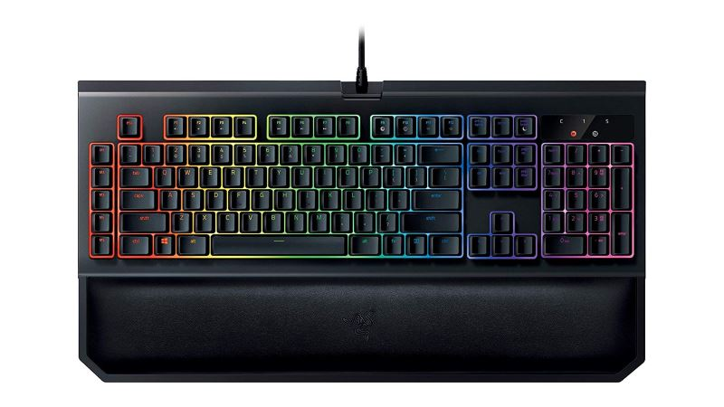 razer black widow chroma c2 gaming keyboard