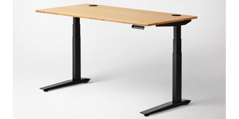 Jarvis Standing Desk Bamboo Top
