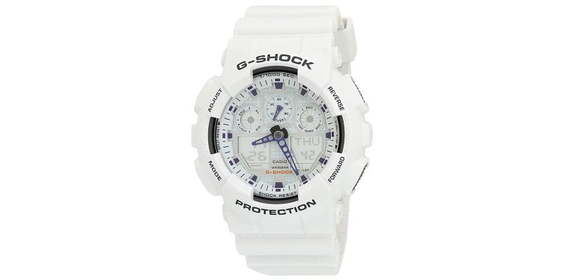 Casio G-Shock GA100A-7A Sports Watch
